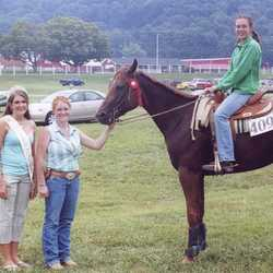 Emily was voted the 4H County Fair Queen.