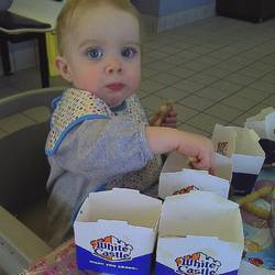 Highlight for Album: Mary Elizabeth goes to White Castle