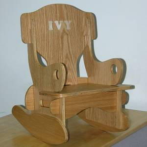 Highlight for album: Ivy's Take-Apart Rocking Chair