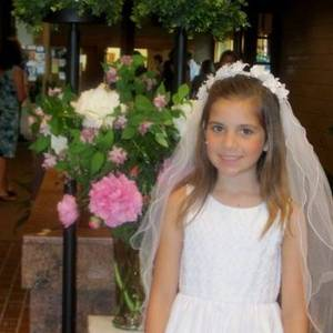 Highlight for album: Lindsay's First Communion