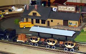 Returning to the train museum.