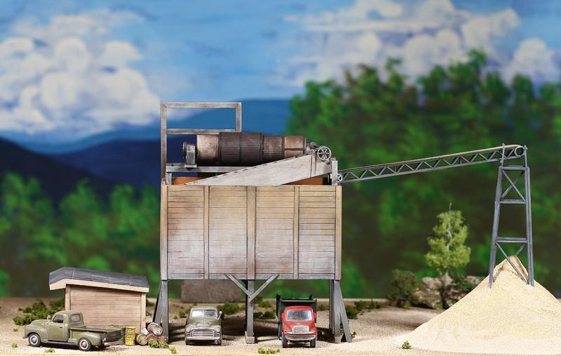 diorama sand 0334Scale model byGene D. Austin