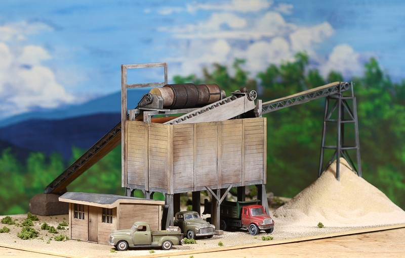 diorama sand 0336Scale model byGene D. Austin