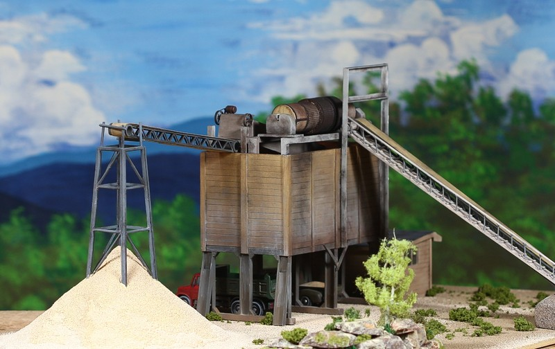 diorama sand 0342Scale model byGene D. Austin